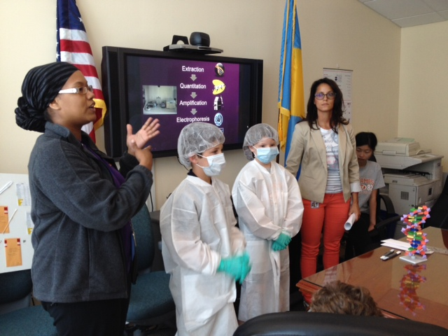 Csi Forensics Camp Visits Philadelphia Police Department Esf Summer Camps The Haverford School